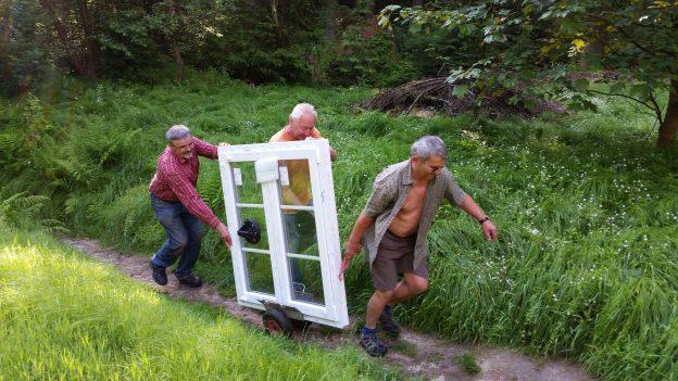 Neue Fenster für die Radeberger Hütte