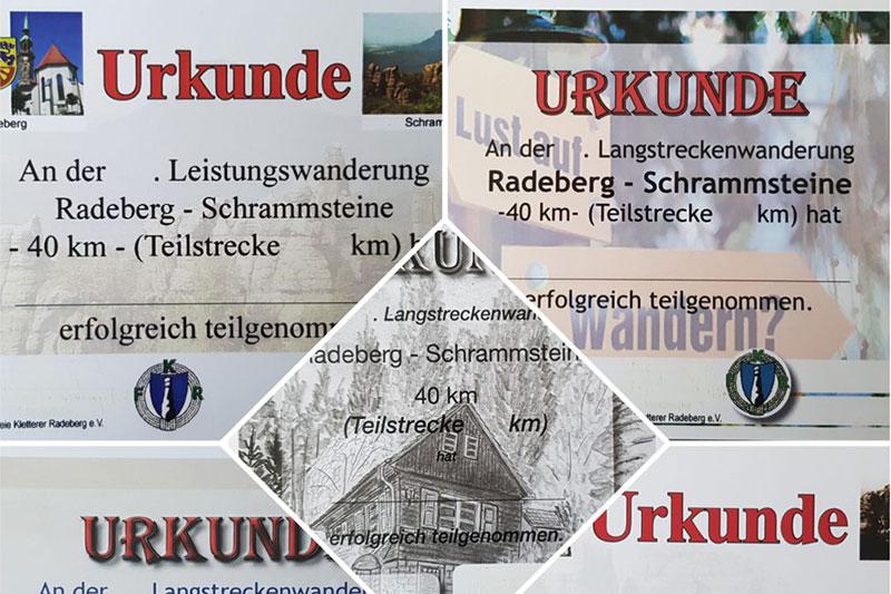Radeberger Langstreckenwanderung